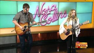 Nora Collins Hits the Morning Blend Stage! - Video