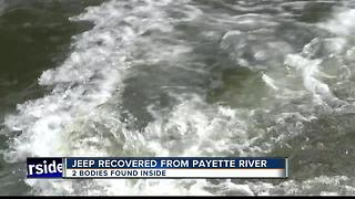 Two bodies found in SUV in Payette River - Video