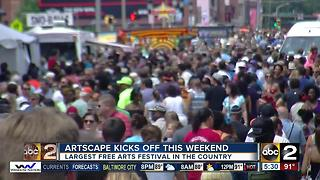 Artscape kicks off this weekend - Video