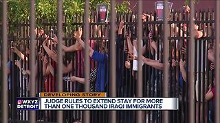 Judge issues preliminary injunction against deportation of hundreds of Iraqis - Video