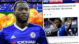 BREAKING: Lukaku REJECTS Everton Contract To Join... ?! | Transfer Talk - Video