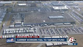 Carrier works fail to tap into assistance fund - Video