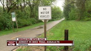 Sheriff's Department: Homeless man to be charged in Kenosha County Bike Trail sexual assaults - Video