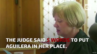 DUI Scumbag Shut Down by Judge After Crybaby Act - Video