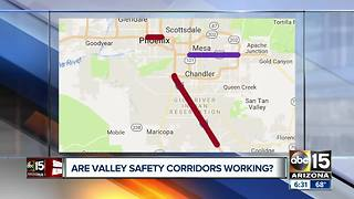 """Are Valley """"safety corridors"""" working?"""