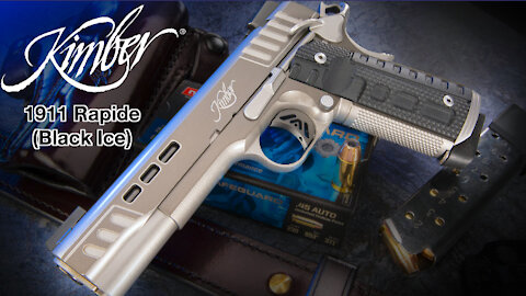Kimber's 1911 Rapide (Black Ice) Is A Lot Of Pistol!