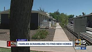 Residents forced to move out of Gilbert apartment complex