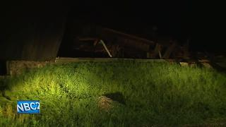 Storm damages buildings in Reedsville area - Video