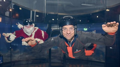 Bear Grylls puts Santa through his paces just in time for December 24