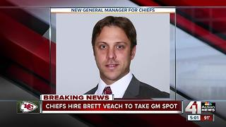 Chiefs name Brett Veach as General Manager