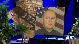 Full video: Douglas County Sheriff's Deputy Zackari Parrish funeral services - Video