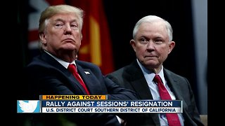 Rally against Sessions' resignation being held in San Diego