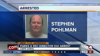 Cape Coral Parks & Recreation Director arrested for DUI - Video