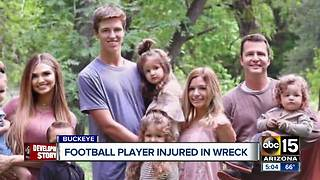 Buckeye student injured in car accident