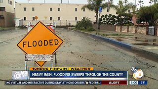 Heavy rain, flooding sweeps through the county