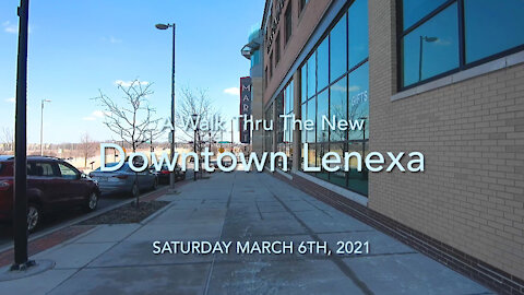 The New Downtown Lenexa Walk Thru 4K
