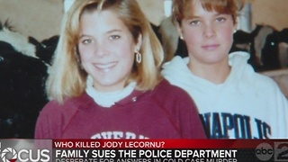 Family of Jody LeCornu sues police department over investigation of murder case - Video