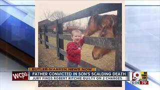 Father guilty in 4-year-old's 'scalding death' - Video