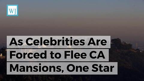 As Celebrities Are Forced to Flee CA Mansions, One Star Reveals Who's Really to Blame for Wildfires