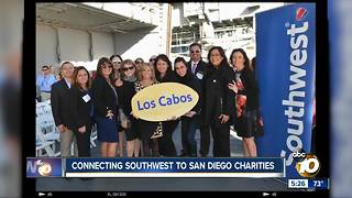 Connecting Southwest to San Diego charities - Video