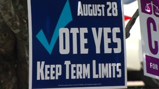 Palm Beach Gardens sued over election sign - Video