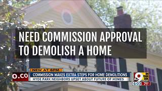 After outcry, commission reconsiders demolition guidelines - Video