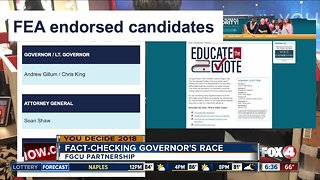 Fact-checking candidates on education