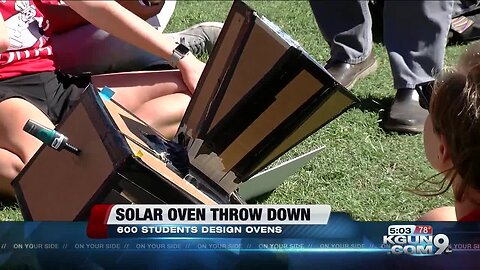 Engineering students crank up the heat at 'Solar Oven Throw Down'