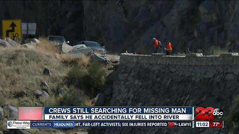 Recovery operation underway for 32-year-old man missing in Kern River