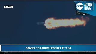 SpaceX Falcon 9 rocket launches Korean Communications Satellite - Video