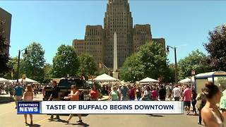 Taste of Buffalo leaves festival goers stuffed