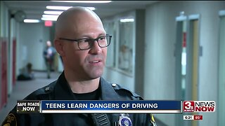Teens learn dangers of driving