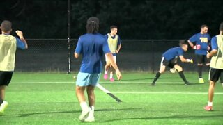 FC Buffalo back on the practice field after months-long hiatus