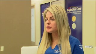 Health care provider working to get homebound seniors vaccinated