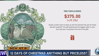 12 Days of Christmas anything but priceless? - Video