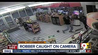 Suspected Speedway robber caught on camera - Video