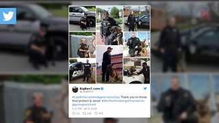 Ben Roethlisberger Sends Message To Law Enforcement On Social Media - Video