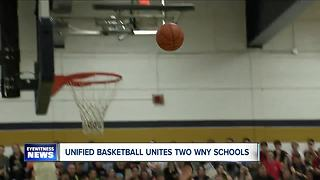 Unified basketball unites two WNY high schools - Video