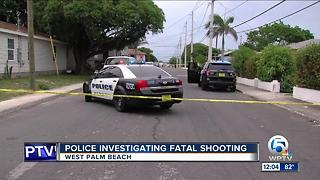 37-year-old man fatally shot along Division Avenue in West Palm Beach - Video