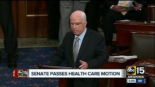 Senator John McCain returns to Senate after cancer diagnosis - Video