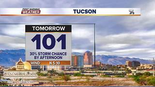 Daily storm chances continue - Video