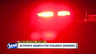 Activists want the violence to stop in Cleveland - Video