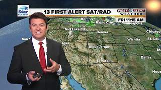 13 First Alert Weather for June 1 - Video