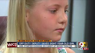 Off-duty Butler County deputy saves choking girl