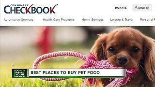 Best places to buy pet food