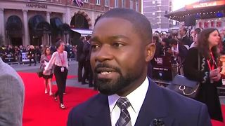 Race and diversity big topic at A United Kingdom LFF premiere - Video