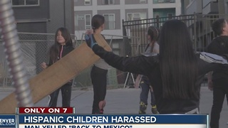 Denver man tells Hispanic kids to go 'back to Mexico' during racist rant - Video