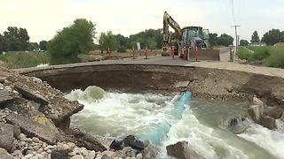 At least 21 homes flooded after culvert fails in Canyon County - Video