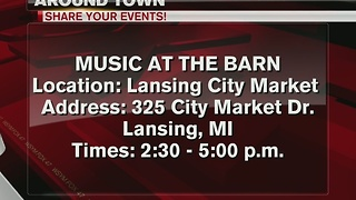 Around Town 12/8/16: Live music at the barn - Video