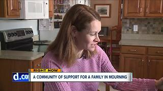 Community rallies around family of Avon Lake mother of three who died from asthma attack - Video
